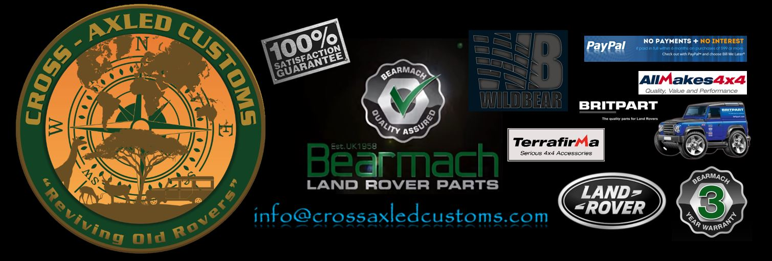 Cross-Axled Customs - Reviving Old Rovers